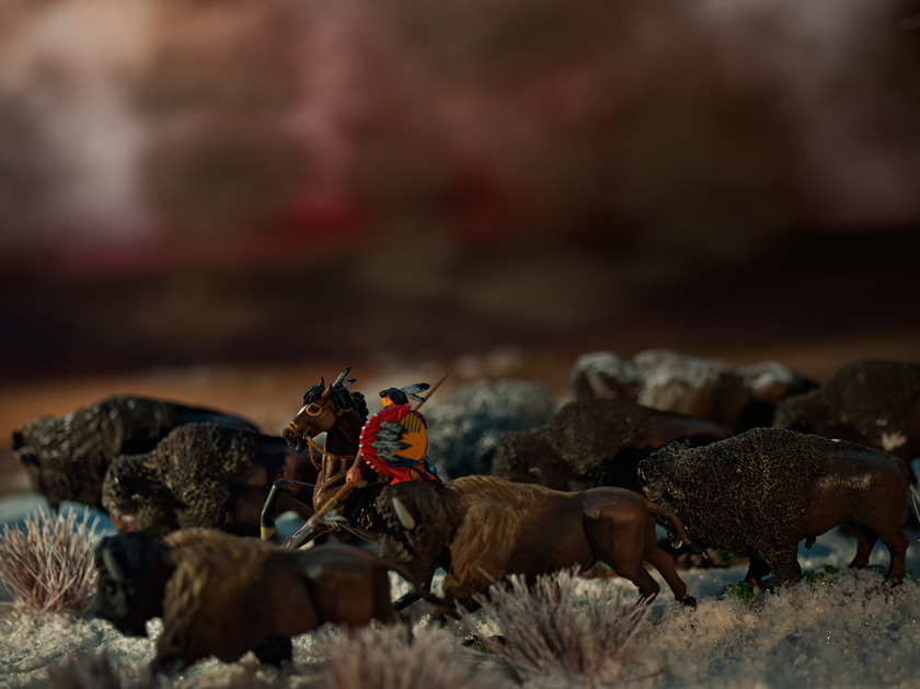 David Levinthal, The Last Trail, Baldwin Gallery, Aspen, 2012