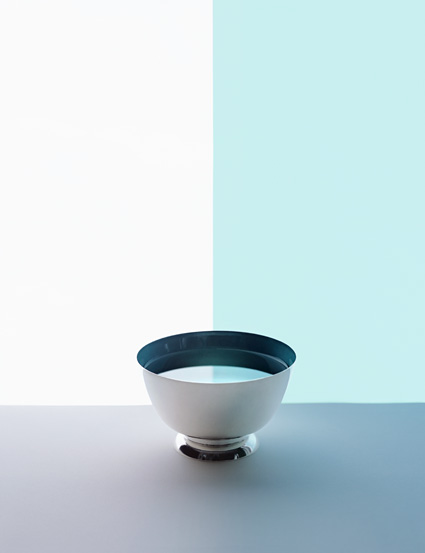Sarah Charlesworth, Half Bowl, 2012. Fuji Crystal Archive print with lacquer frame, 41 x 32 inches