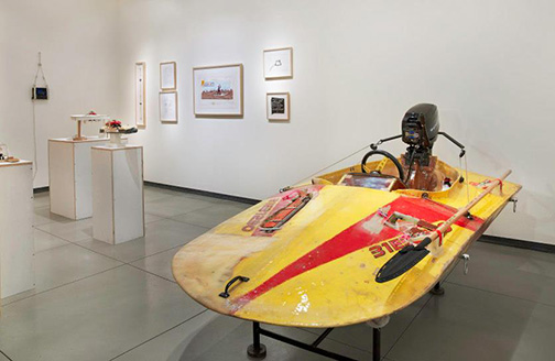 Tom Sachs: Nautical challenge and other voodoo, installation view, January, 2013