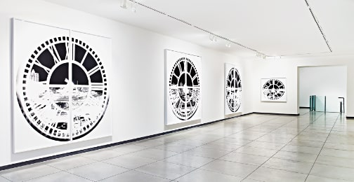 Vera Lutter: Clock Tower, installation view, March, 2014