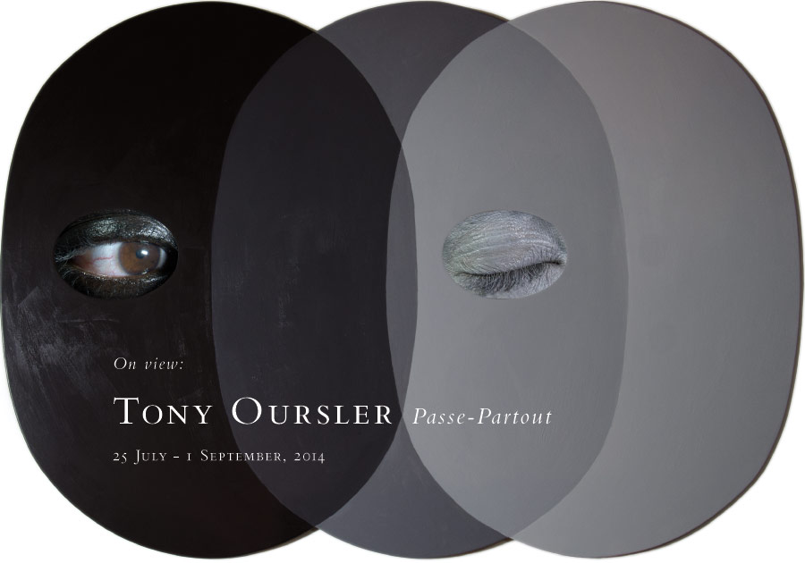 Tony Oursler: Passe-Partout, at Baldwin Gallery, Aspen, 25 July - 1 September, 2014.