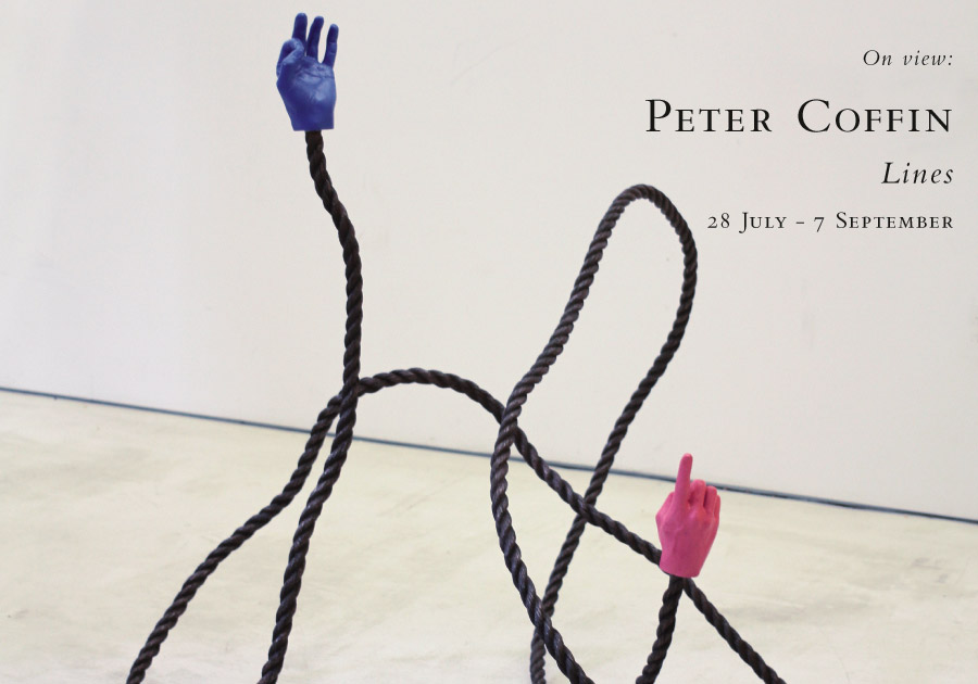 Peter Coffin, Lines. 28 July - 7 September, 2015