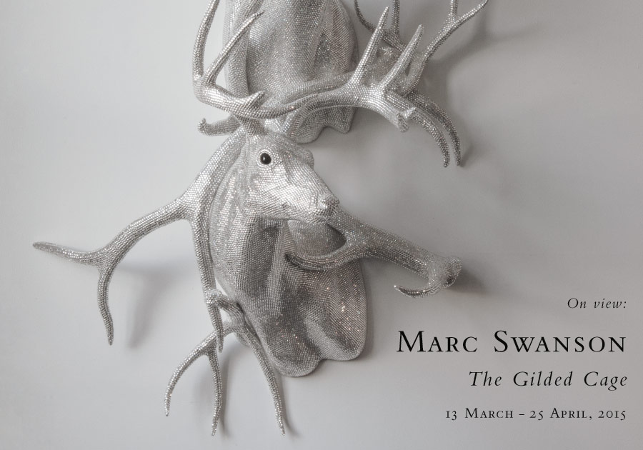 Marc Swanson: The Gilded Cage, at the Baldwin Gallery, Aspen, March 13 – April 25, 2015