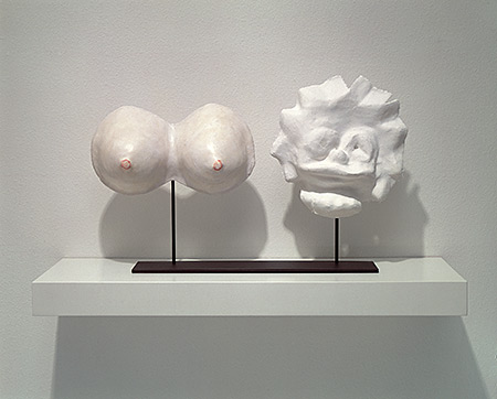George Stoll, Untitled (Lisa Simpson with breasts) 2002,