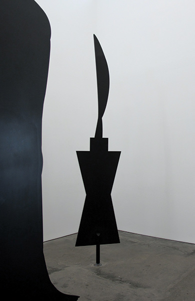 "Peter Coffin, Sculpture Silhouette (C. Brancusi ""Bird in Space"" 1932), 2018