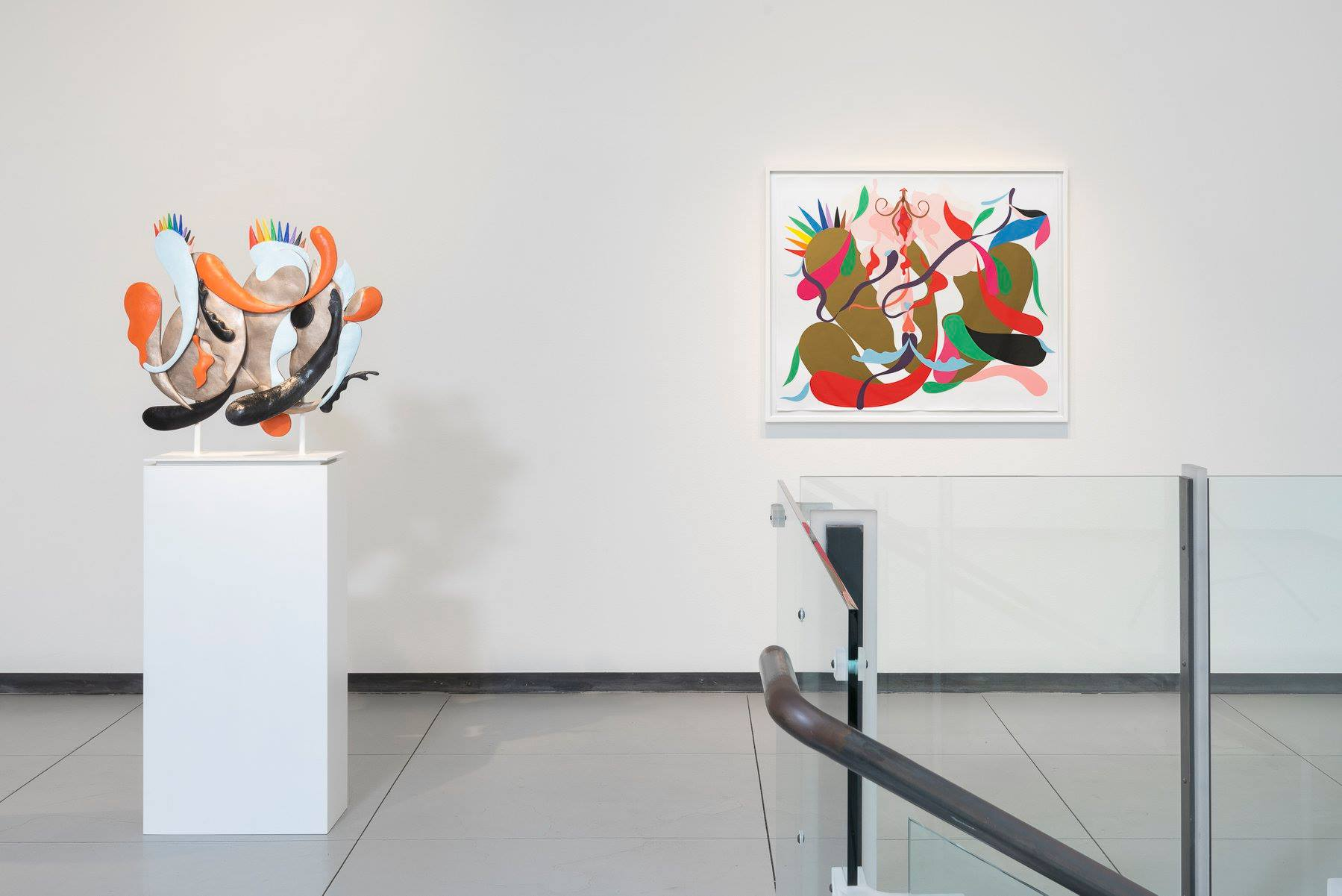Nathan Carter: Primrose Posy and the Stimulators, installation view, Baldwin Gallery, March 2020