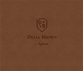 Delia Brown, Aspen, book