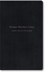 Enrique Martinez Celaya, another show for the leopard, book