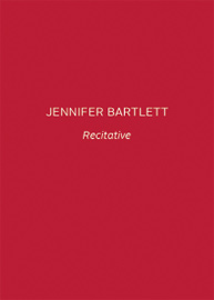 Jennifer Bartlett, Recitative, 2010, book cover